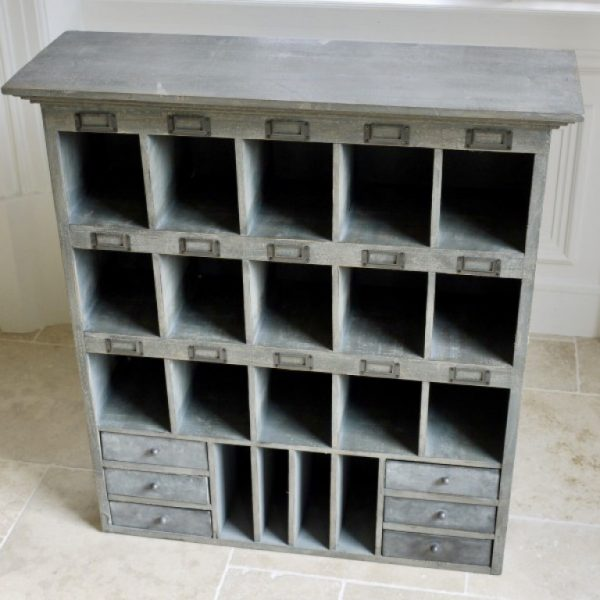Grey Wooden Wall Unit J Adore La Maison, Large Wall Storage Units With Doors